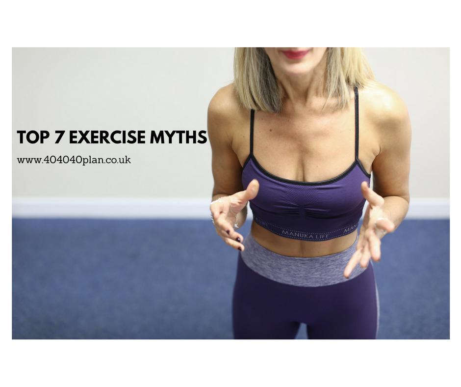 Top 7 Exercise Myths – 404040 Plan